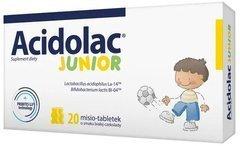 ACIDOLAC Junior x 20 szt. Misio-Tabletki