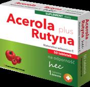 Acerola Plus Rutyna naturalna witamina C x 50 tabletek