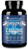 Anvition Caffeine 200mg + Guarana x 100 kapsułek