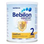 Bebilon comfort 2 z Pronutra mleko następne na koliki i zaparcia 400g