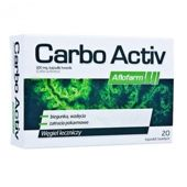 CARBO ACTIVE 200mg x 20 kapsułek
