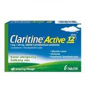 CLARITINE Active x 6 tabletek