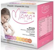 Composita Mama DHA 30 kapsułek + 60 kapsułek