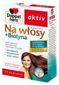DOPPELHERZ Aktiv Na włosy + Biotyna x 30 kapsułek