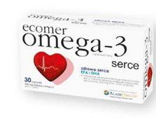ECOMER OMEGA-3 SERCE x 30 kapsułek