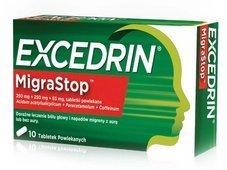 EXCEDRIN Migrastop x 10 tabletek