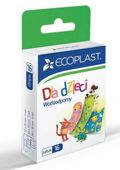 Ecoplast Plastry opatrunkowe polimerowe wodoodporne dla dzieci x 16 sztuk