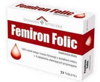 FEMIRON FOLIC x 72 tabletki