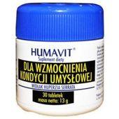 HUMAVIT Widłak Huperzia Serrata dla wzmocnienia kondycji umysłowej x 30 tabletek