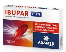 Ibupar Forte 0,4g x 10 tabletek