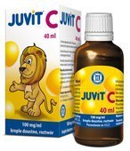JUVIT C 0,1g/1ml krople 40 ml
