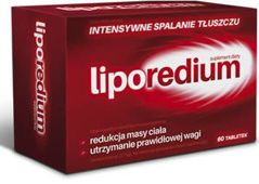 Liporedium x 60 tabletek