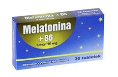 MELATONINA+B6 3mg + 10mg x 30 tabletek