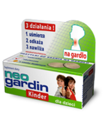 NEOGARDIN KINDER x 20 pastylek do ssania
