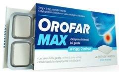 OROFAR MAX x 20 pastylek