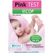 PINK EKO Test ciążowy 1 sztuka