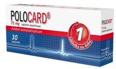 POLOCARD 0,075 x 30 tabletek