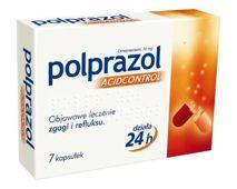 POLPRAZOL Acidcontrol 10mg x 7 kaps.