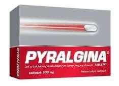 PYRALGINA x 12 tabletek