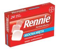RENNIE Antacidum x 24 tabletki