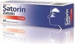 SATORIN ZATOKI FORTE x 30 tabletek