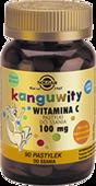 SOLGAR Kanguwity Witamina C 100mg x 90 pastylek do ssania