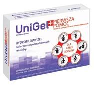 UniGel Pierwsza pomoc żel 5g + opatrunek foliowy x 3 sztuki