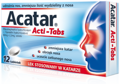 ACATAR ActiTabs x 12 tabletek