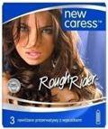 Caress Rough Rider Prezerwatywy nawilżane z wypustkami x 3 sztuki