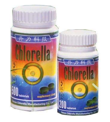 Chlorella algi prasowane opinie
