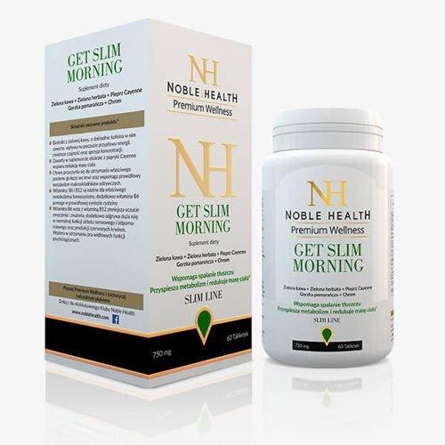 Get slim morning noble health x 60 tabletek cena opinie for Kolagen w tabletkach