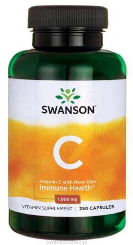 Znalezione obrazy dla zapytania swanson witamina c 1000mg