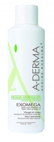 A-DERMA EXOMEGA płyn do kąpieli 250ml