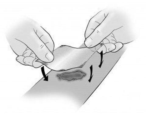 ACTILITE Opatrunek z miodem manuka 10cm x 10cm x 1szt.