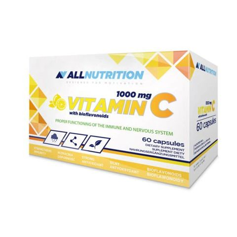 ALLNUTRITION Vitamin C 1000mg  with bioflavonoids x 30 kapsułek