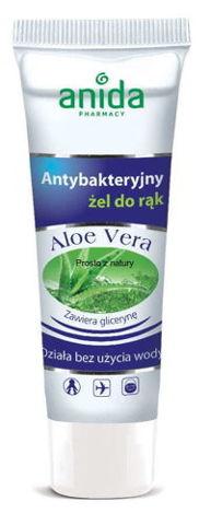 ANIDA Żel antybakteryjny do rąk Aloe Vera w tubie 50ml