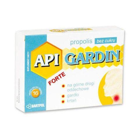 API-GARDIN FORTE Propolis bez cukru x 16 pastylek do ssania