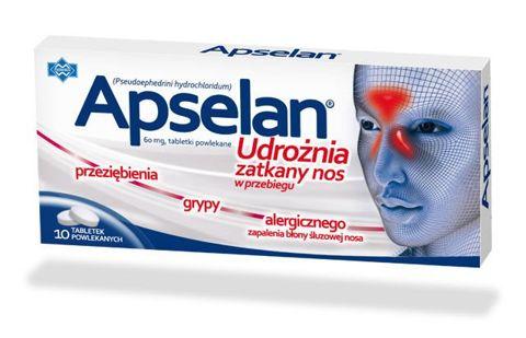 APSELAN 60mg x 10 tabletek