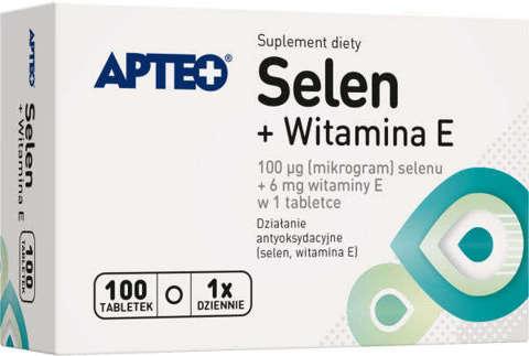 APTEO Selen + Wit. E x 100 tabletek
