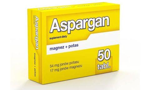 ASPARGAN x 50 tabletek
