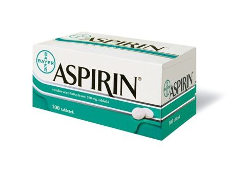 ASPIRIN 0,5 x 100 tabletek