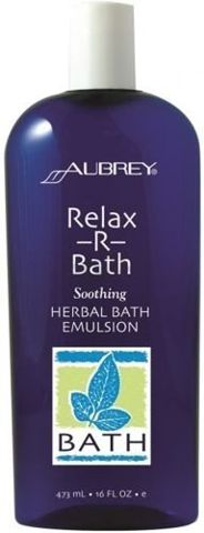 AUBREY Relax-R-Bath Relaksująca ziołowa emulsja do kąpieli 473ml