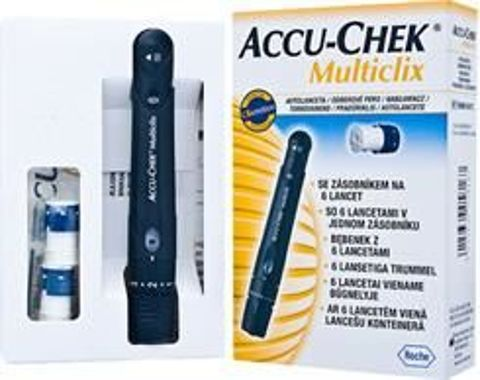 Accu-Chek Multiclix urządzenie + 12 lancetów