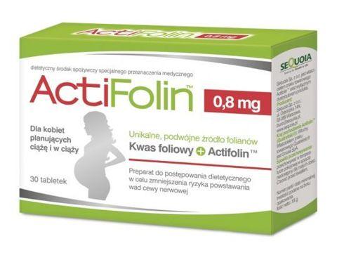 ActiFolin 0,8mg x 30 tabletek