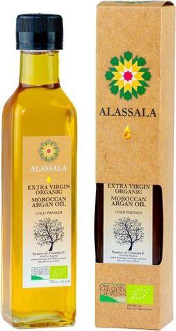 Alassala organiczny marokański olej arganowy 100ml