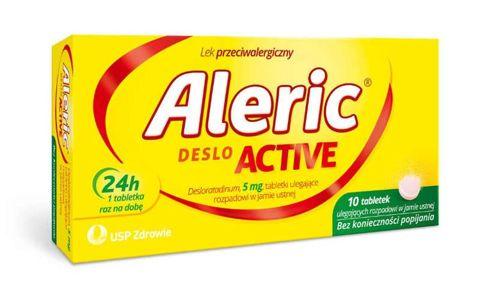 Aleric Deslo Active 5mg x 10 tabletek
