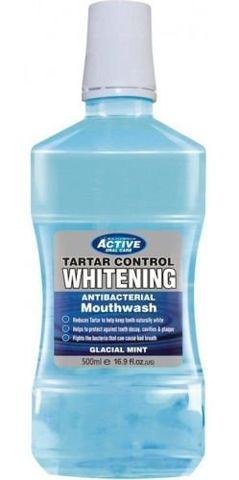 BEAUTY FORMULAS ACTIVE ORAL CARE WHITENING Płyn do płukania jamy ustnej 500ml