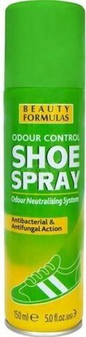 BEAUTY FORMULAS Dezodorant do butów antybakteryjny i przeciwgrzybiczy 150ml
