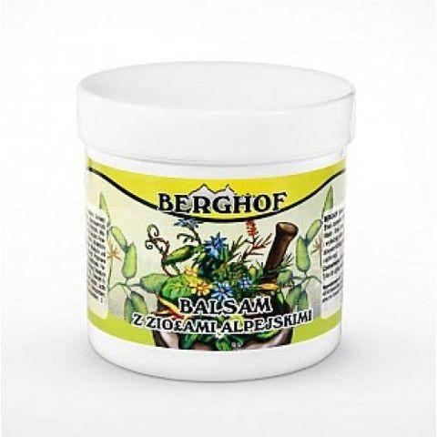 BERGHOF BALSAM Do ciała z ziołami alpejskimi 250ml