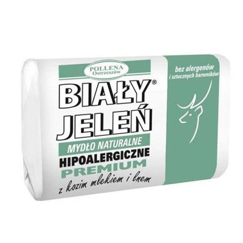 BIAŁY JELEŃ Hipoalergiczne mydło z ekstraktem z koziego mleka 100g